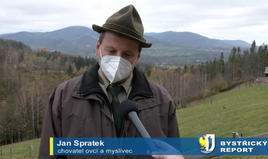 Chovatel ovcí a myslivec Jan Spratek.png